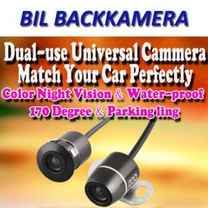 Universal Bil Kamera med dubbla användningsområden