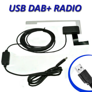 USB DAB + Digital Radio Portable Broadcasting Receiver Tuner Med Antenna