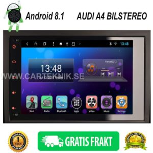AUDI A4 S4 RS4 2002 til 2007 Android 8.1 Multimedia Bilstereo