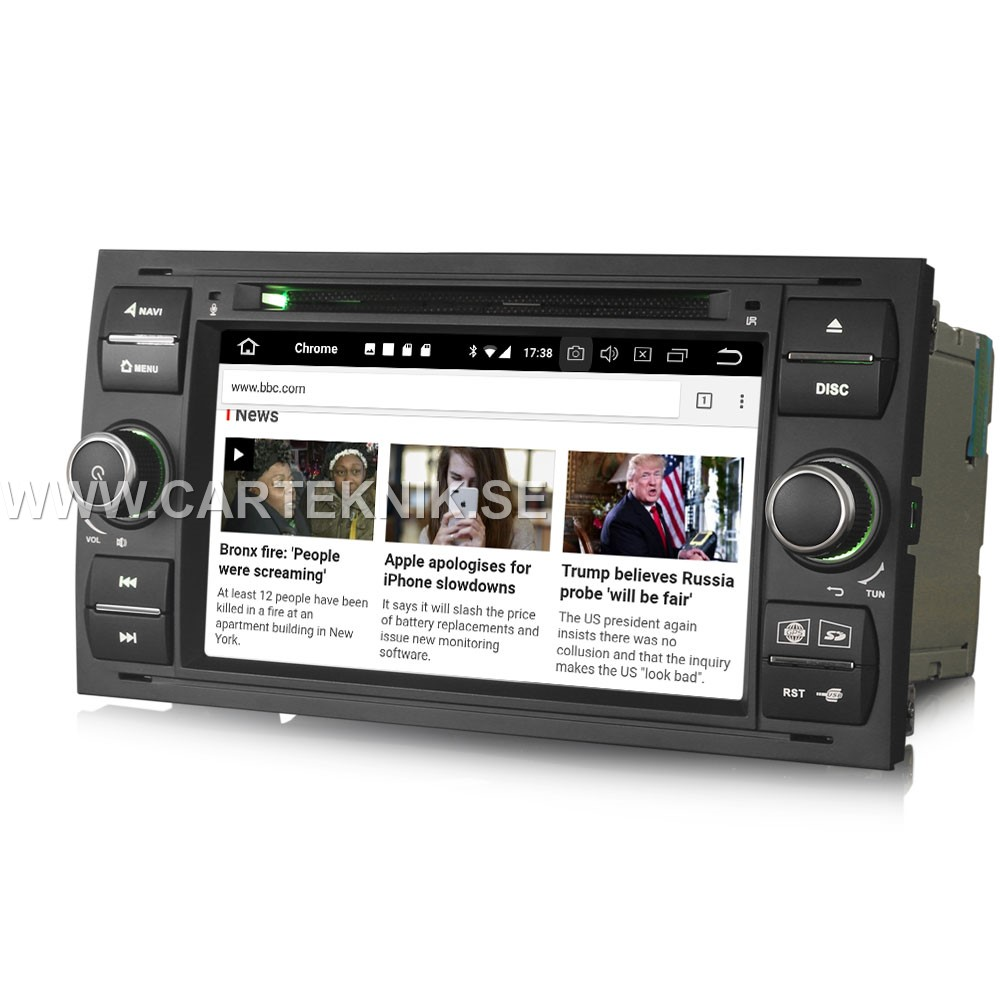 android 8 0 car stereo gps dvb t2 dab dvd till ford. Black Bedroom Furniture Sets. Home Design Ideas