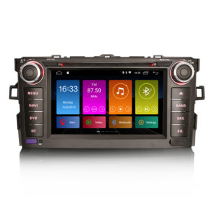 Android 10.0 Autoradio DAB+ GPS DVD Player OBD CarPlay Wifi TOYOTA AURIS COROLLA ALTI