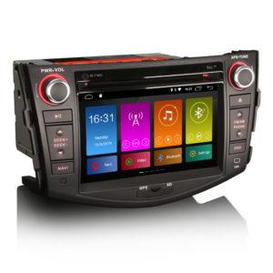 RAV4 Android 10.0 Car Stereo DVD GPS Sat OBD2 4G WiFi DSP CarPlay