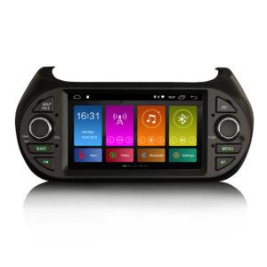 Android 10.0 Car Stereo GPS DAB for Fiorino Nemo Bipper