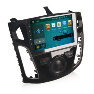 Android 10.0 Car Radio for Ford Focus GPS DAB+ DVR WiFi OBD2 DTV Bluetooth Stereo 4G CarPlay+