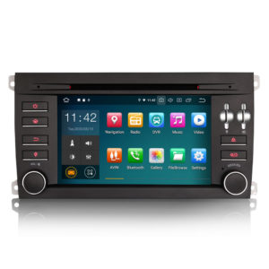 Android 10.0 Car DVD GPS Radio WiFi BT TPMS DAB+ 4G for Porsche Cayenne