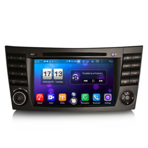 Android 10.0 Car DVD CarPlay & Auto GPS 4G DAB+ WiFi for Benz E/CLS/G Klasse W211 W219