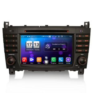 Android 10.0 Car DVD CarPlay & Auto GPS 4G DAB+ for Benz C/CLC/CLK Klasse W203 W209