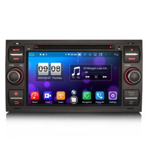 Android 10.0 Car DVD CarPlay & Auto GPS 4G DAB+ for Ford C/S-Max Galaxy Kuga Focus Transit