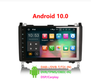 Android 10.0 Car Multimedia System CarPlay & Auto GPS TPMS DAB+ DSP for Benz Sprinter Viano Vito