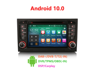Android 10.0 Car DVD CarPlay & Auto GPS 4G DAB+ DSP for Audi A4