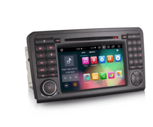 Android 10.0 Car DVD Player GPS for Benz ML-Class W164 GL-Class X164 CarPlay DSP 64G DABKey Features:      – Android 10.0 OS, Octa Core, 4GB RAM and 64GB ROM, 2 Card/4 USB up to 6*128GB extended Storage. – Built-in Can-bus Decoder. – Built-in DSP Amplifier System, which bring the perfect sound effect in your car. – Built-in Apple CarPlay and Android Auto module. you don't need to use another adapter, just connect your   smartphone to this unit with USB to use CarPlay or Android Auto function. – Built-in Bluetooth module, which supports hands-free function with A2DP Audio Streaming. – Built-in GPS Module, which supports offline GPS Navigation, GPS function ready to use. – Built-in WiFi Module for Internet, you can Link mobile hotspot to use Google online Navigation. – Built-in Android Multimedia Player, can play Music/Video/Photo from local Disc or USB/TF. – Built-in DVD, USB, TF, Radio, RDS, WiFi, Clock, Calculator, Calendar. – Support DAB+, DVB-T/T2, TPMS, OBD2, DVR, Camera, AVIN, 3G, 4G etc. extended functions. – Support steering wheel control, easier and safer to adjust volume, answer calls and switch the songs while driving. – Support panel light colors adjustment, many RGB-colors can be chosen. – Support Split Screen, you can run two apps side by side.  Compatible Models & Years:  Mercedes Benz ML-Class W164 2005-2012 (ML300/ML350/ML450/ML500) Mercedes Benz GL-Class X164 2005-2012 (GL320/GL350/GL450/GL500)  Important Note: This unit has front panel size 270mm(Top width)*140mm(High)*258mm(Bottom width). To make sure the item fits your car, please check the shape and dimensions of your original car Media Player which is the same as the description in our listing before bidding.         General – Power Supply: DC 12V (allowance range: 10.8-14.5V) – Max. Current: 10A – Screen Size: 7 inch – Front panel Size: 270mm(Top width)*140mm(High)*258mm(Bottom width) – Package Size: 350mm*280mm*210mm – Shipping Weight: 4.5kg       System – Operation System: Google Android 10.