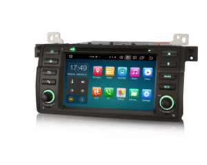 BMW E46 Car DVD Player 64G Android 10.0 Car Stereo DSP CarPlay & Auto GPS TPMS DAB+ 4G