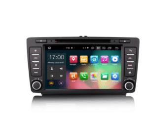 SKODA OCTAVIA 64G Android 10.0 Car Stereo DSP CarPlay & Auto GPS TPMS DAB+ 4G DVD System