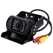 Car/Truck CCD Color Reversing Camera 12V/24V 18 IR LED