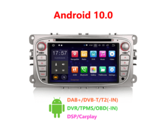Android 10.0 Car DVD CarPlay & Auto GPS TPMS DAB+ DSP for Ford Mondeo Focus Galaxy S-MAX C-MAX