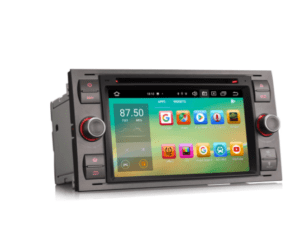 Android 10.0 Car Stereo for Ford Fusion Kuga Mondeo Fiesta DSP CarPlay & Auto GPS TPMS DAB+ 4G DVD System