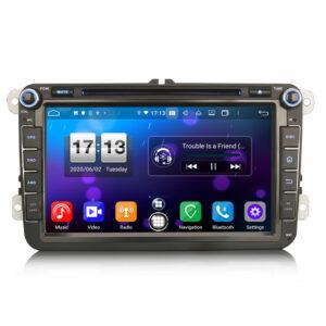 Android 10.0 Car Radio CarPlay & Auto GPS 4G DAB+ WiFi till VW Seat Skoda Golf