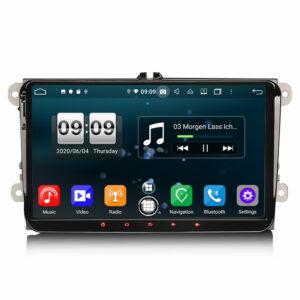 Android 10 VW Amarok EOS Scirocco Tiguan T5, GOLF  Bil Multimedia system